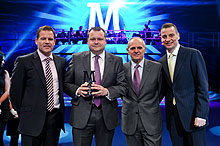 Morrisons Worsley site won the Best Site Award at the 2012 Manufacturing Conference